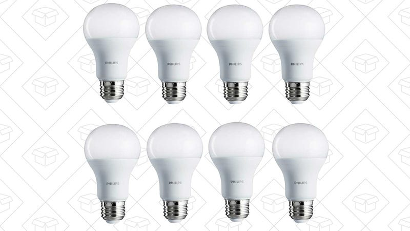8-Pack 100W Equivalent Daylight LED Bulbs | $29 | Amazon