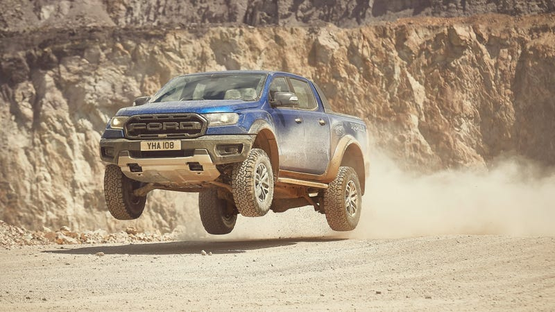 The 2019 Ford Ranger Raptor Will Be There to Leap Over Literally