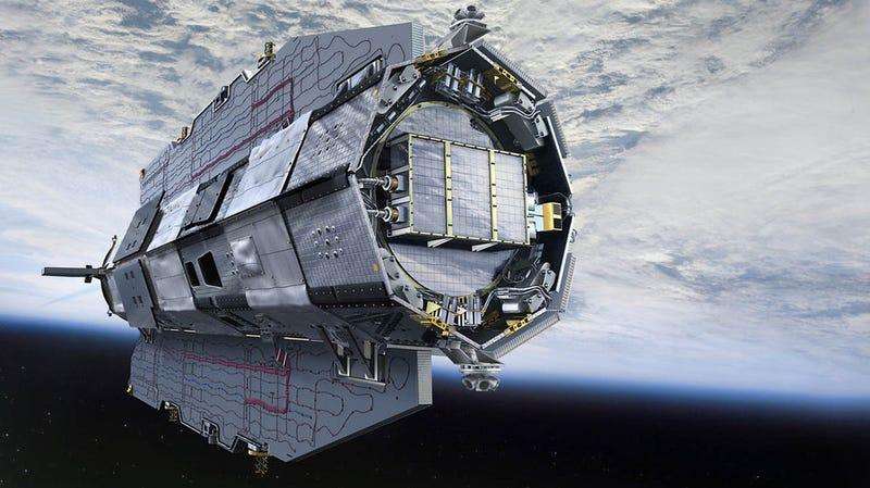 Illustration for article titled Un satélite que llevaba cinco años muerto revela restos de continentes perdidos bajo la Antártida
