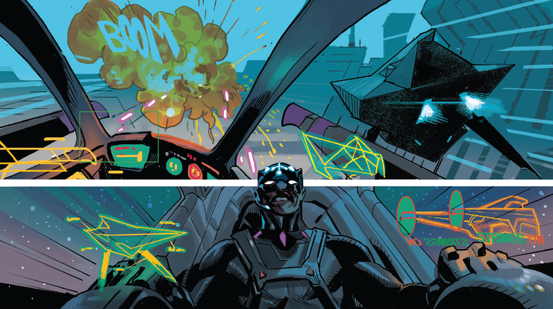 Black Panther #2 has an action sequence that out Star Wars-es Star Wars itself.