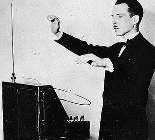 Illustration for article titled The theremin: scary music to our ears