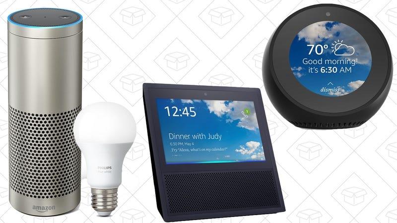 Amazon Echo Plus   $120   AmazonAmazon Echo Show   $160   AmazonAmazon Echo Spot   $104   Amazon