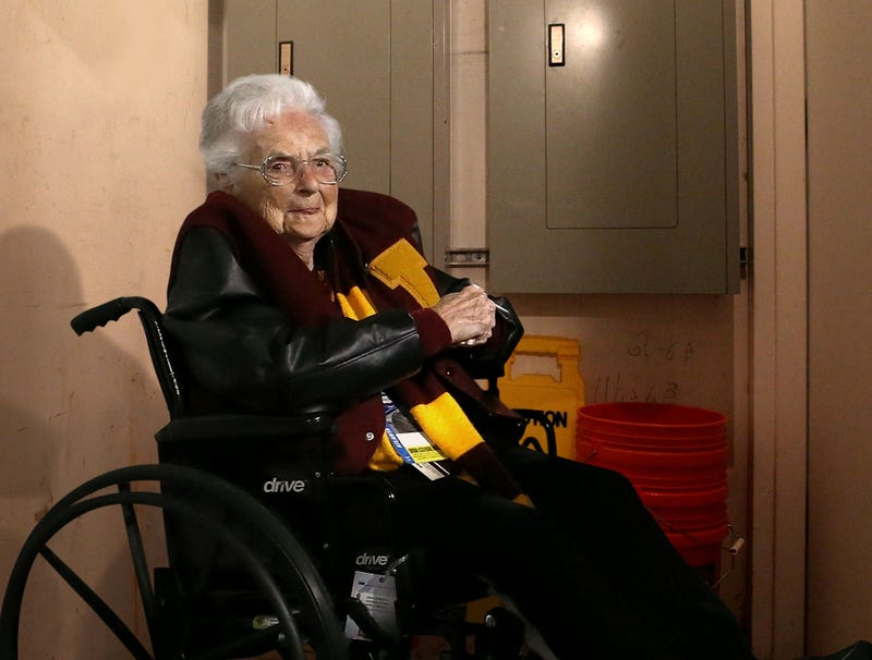 Illustration for article titled Sister Jean Wheeled Back Into Rectory Closet Until Next Season