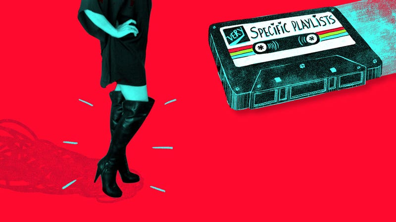Illustration for article titled A Playlist for Getting Ready to Go to The Club in Your Fuck Him Boots