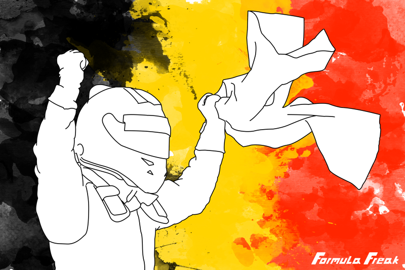 Illustration for article titled Drive of the Race - Belgian Grand Prix
