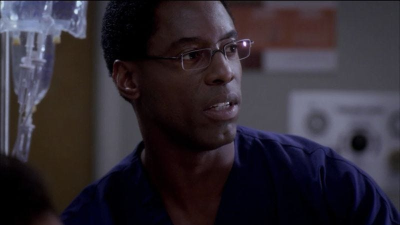 Illustration for article titled Isaiah Washington returning to Grey's Anatomy after being fired