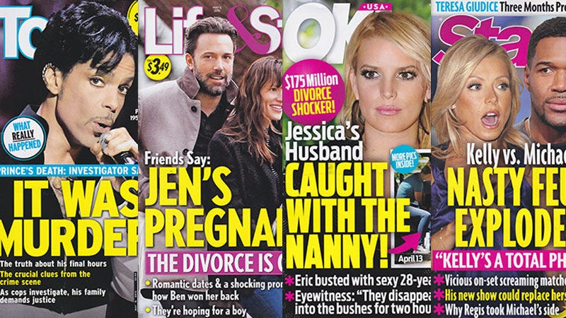 Illustration for article titled This Week In Tabloids: Jessica Simpson's Husband Might Be Fucking the Nanny, Is Behind on This Trend
