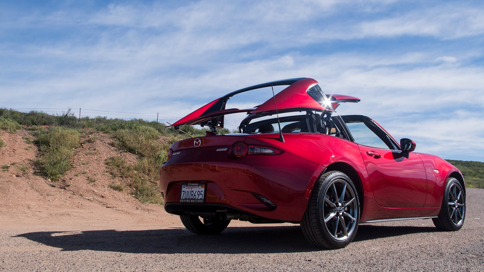 There S One Big Difference Between Driving A Mazda Miata