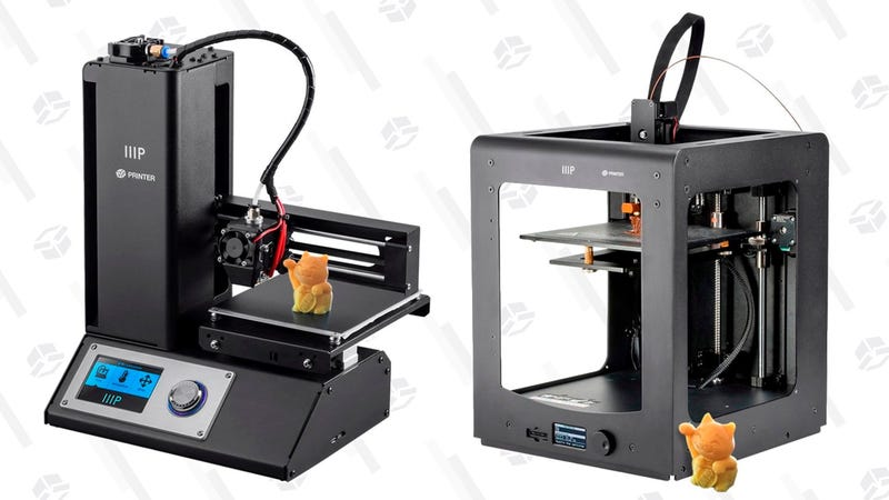 MP Select Mini 3D Printer V2 | $175 | Monoprice | Promo code MINI25Maker Ultimate 3D Printer | $480 | Monoprice | Promo code ULT220