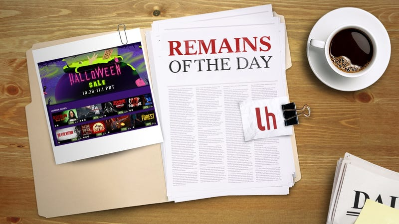 Illustration for article titled Remains of the Day: Steam Is Having a Halloween Sale