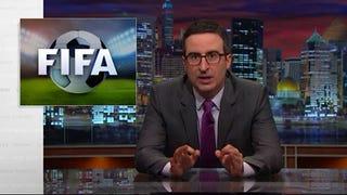 """John Oliver To The Brands: """"Please Make Sepp Blatter Go Away"""""""