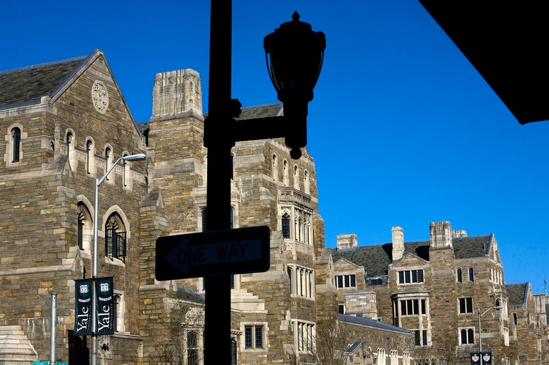 Buildings on the campus of Yale University in New Haven, Conn., as seen April 15, 2008 Christopher Capozziello/Getty Images