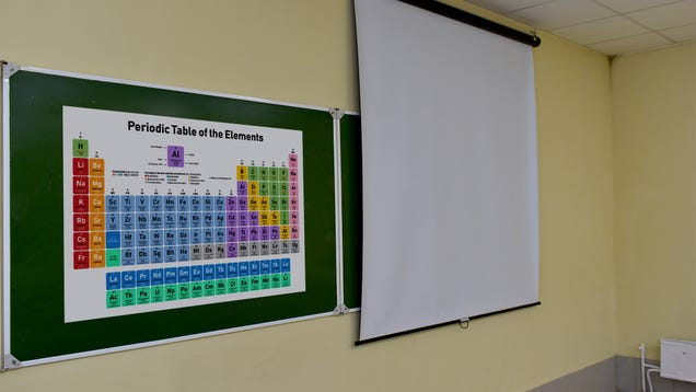 Concerns About Nuclear Iran Grow After Periodic Table Poster Spotted In Tehran High School