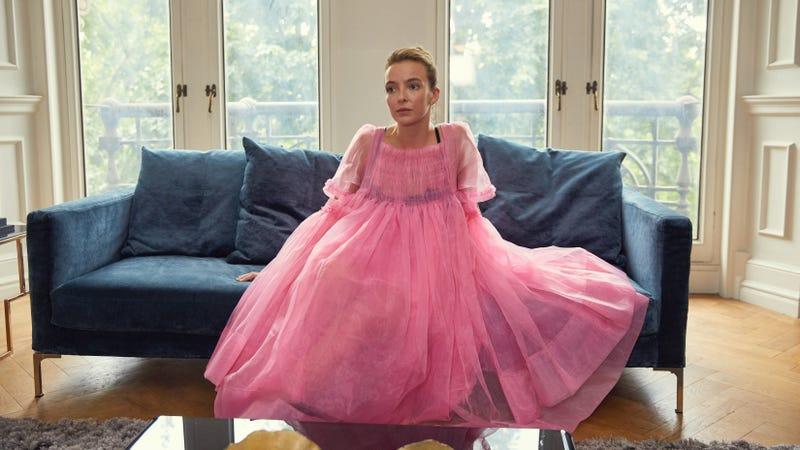 That dress, though.