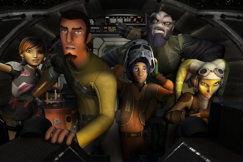 Illustration for article titled The Heroes Of Star Wars Rebels Could Make Their Way To Live-Action