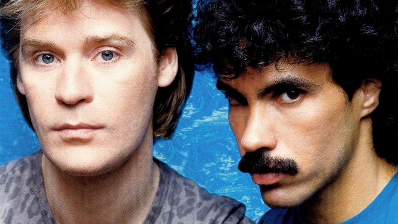 Illustration for article titled A Hall & Oates deep-cut proves Fridays can be disappointing too