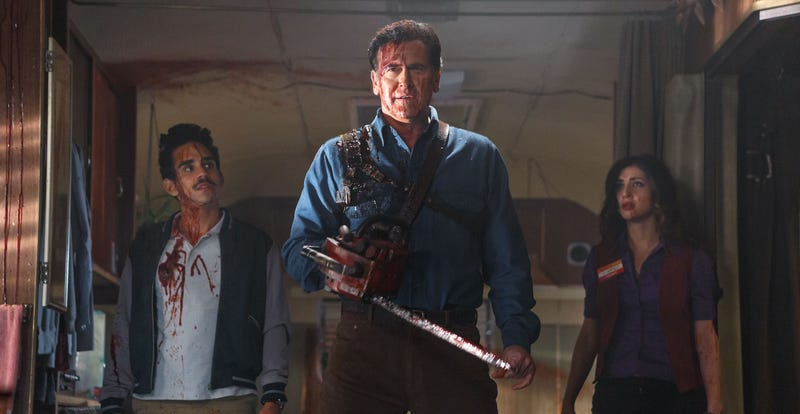 Illustration for article titled The Six Million Dollar Man Is Going to Be Playing Ash's Dad in Ash vs Evil Dead