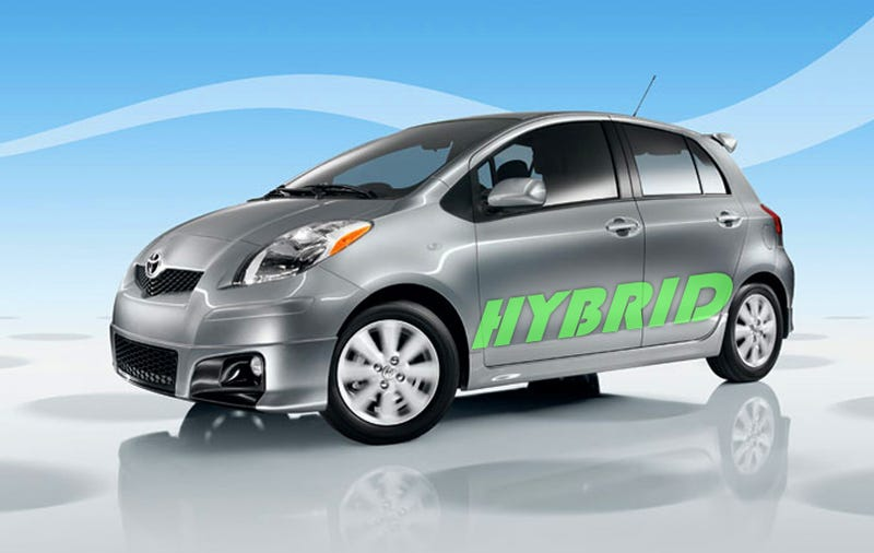 Illustration for article titled Toyota Yaris Hybrid To Take On Low-Cost Honda Insight