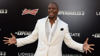 Actor Terry Crews attends the premiere of The Expendables 3 at the TCL Chinese Theatre on Aug. 11, 2014, in Hollywood, Calif. MARK RALSTON/AFP/Getty Images