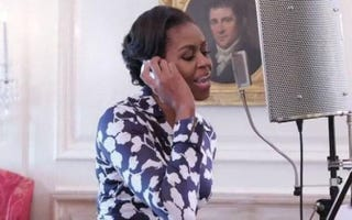 Michelle ObamaYouTube Screenshot