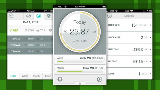 how to keep track of data usage