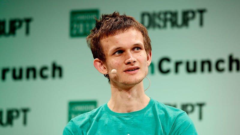 Ethereum cofounder Vitalik Buterin. (Image: Getty)