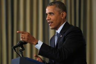 President Barack Obama Chip Somodevilla/Getty Images