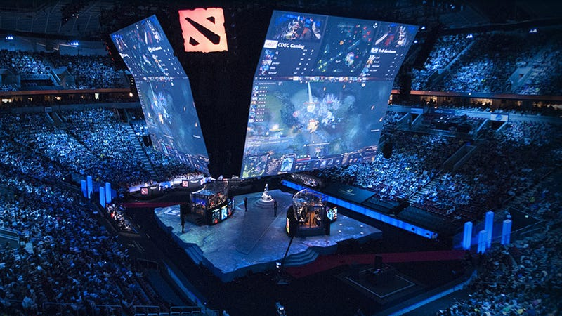 Dota 2's The International 7 breaks esports prize pool record