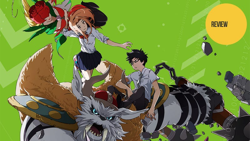 Illustration for article titled In Digimon Tri, Growing Up Is Just as Hard as Battling Giant Monsters