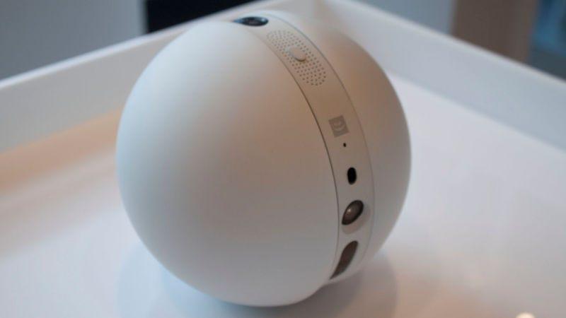 Illustration for article titled Esta pelota es el nuevo y extravagante robot de LG