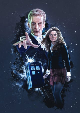 Illustration for article titled This Doctor Who fan art is pretty goddamn Rad
