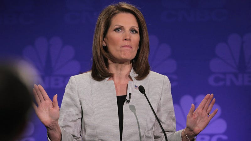 Illustration for article titled Michele Bachmann Hasn't Paid Former Staffers Because Michele Bachmann