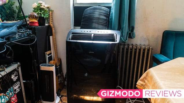 This Standing Air Conditioner's Quiet Cool Will Make Me Miss Working From Home