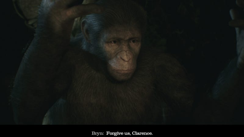 Illustration for article titled Planet Of The Apes: Last Frontier Has Great Apes, But That's About It