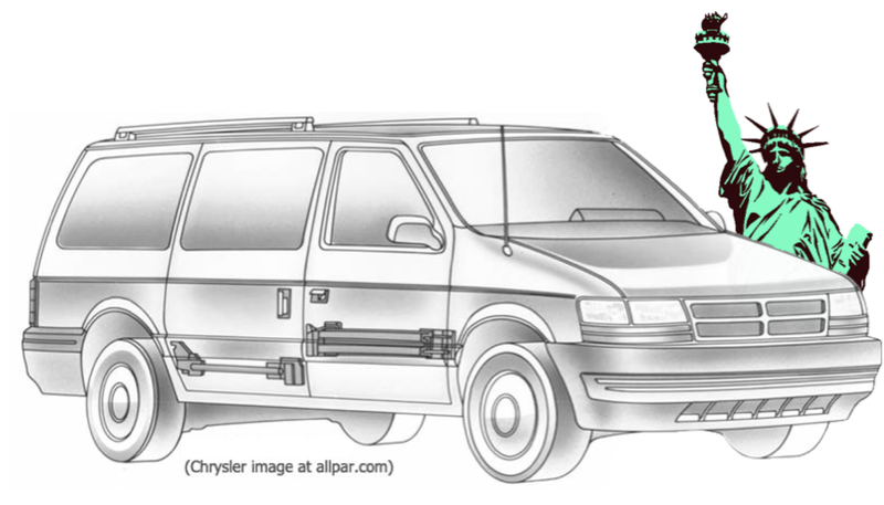 Illustration for article titled American Icons: The Chrysler Minivan