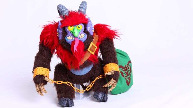 Illustration for article titled Warpo's Latest Toy Is a Creepy, Cuddly Krampus
