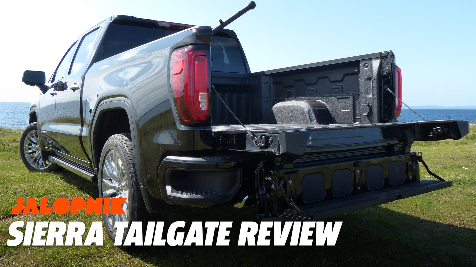 The 2019 GMC Sierra's Six-Way 'MultiPro' Tailgate Is a Great Gadget Even If It's Unnecessary