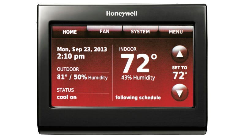 Illustration for article titled Honeywell's New Voice-Activated Thermostat Brings Comfort to the Lazy