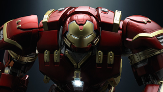 Illustration for article titled Bandai's Figuarts Hulkbuster Is Insanely Awesome
