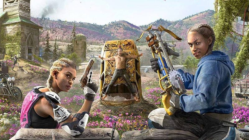 Illustration for article titled The Leaked Box Art For Far Cry New Dawn Owns