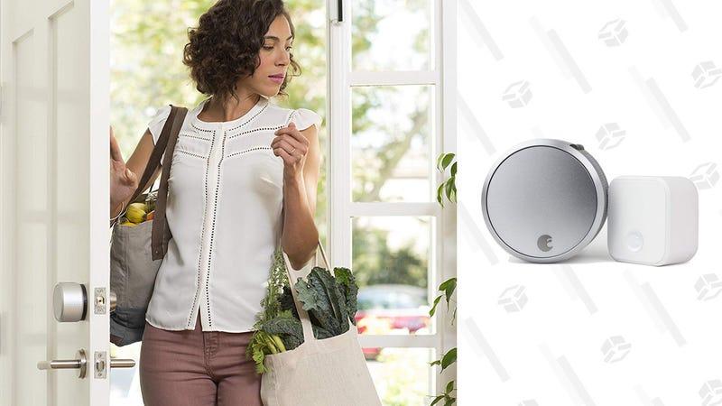 August Smart Lock Pro + Connect Hub| $166 | Amazon