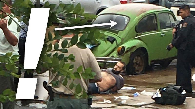 Illustration for article titled Vintage Volkswagen Shop Owner Witnessed Takedown Of Manhattan Bombing Suspect