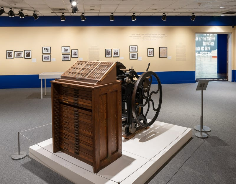 """""""The Liberator: Chronicling Black Los Angeles 1900-1914"""" exhibit at the California African American Museum in Los Angeles."""
