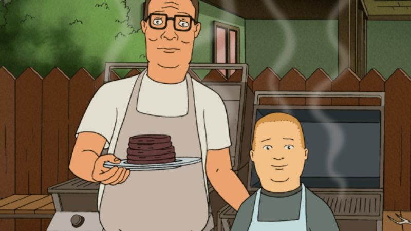 """Illustration for article titled King Of The Hill: """"The Boys Can't Help It""""/""""To Sirloin With Love"""""""