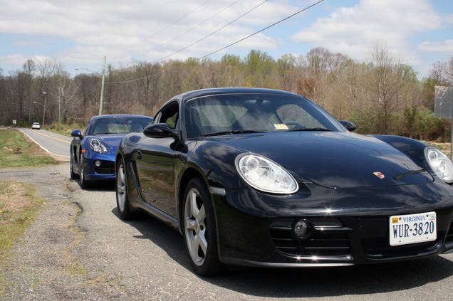 how much better is the new porsche cayman than the old one. Black Bedroom Furniture Sets. Home Design Ideas