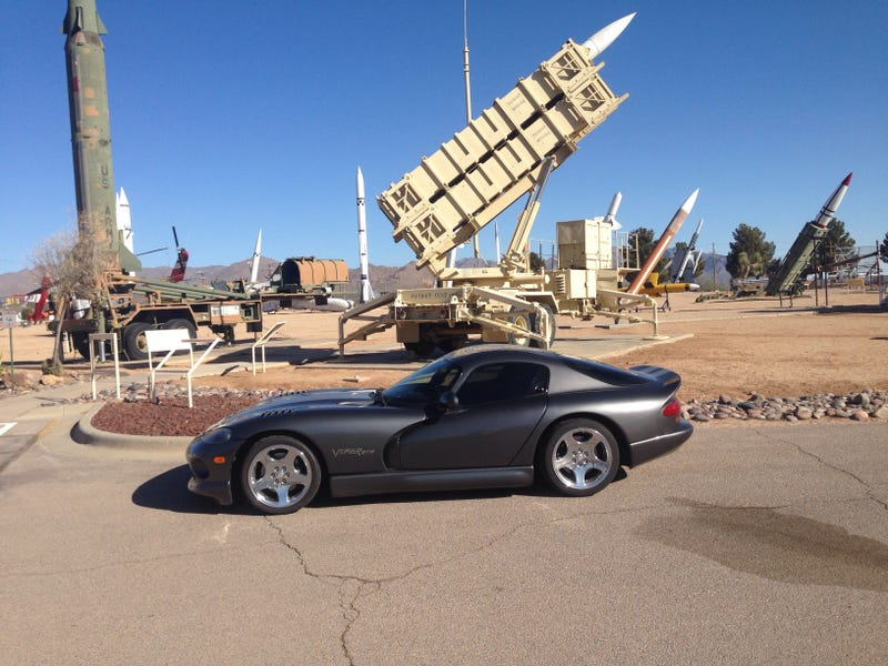 Took the Viper to visit some fellow missiles at White Sands Missile Range