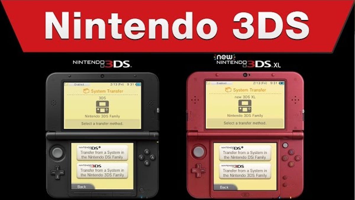 How To Transfer Data From A 3DS To A New 3DS