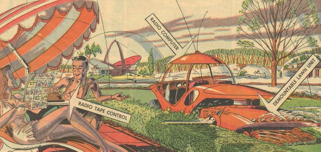 This Robot Gardener from the 1960s Looks Like a Techno-Utopian Version of the Apocalypse