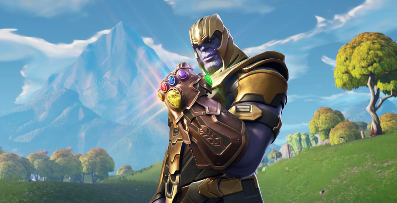 Illustration for article titled Fortnite Players Are Having Fun Trolling Thanos