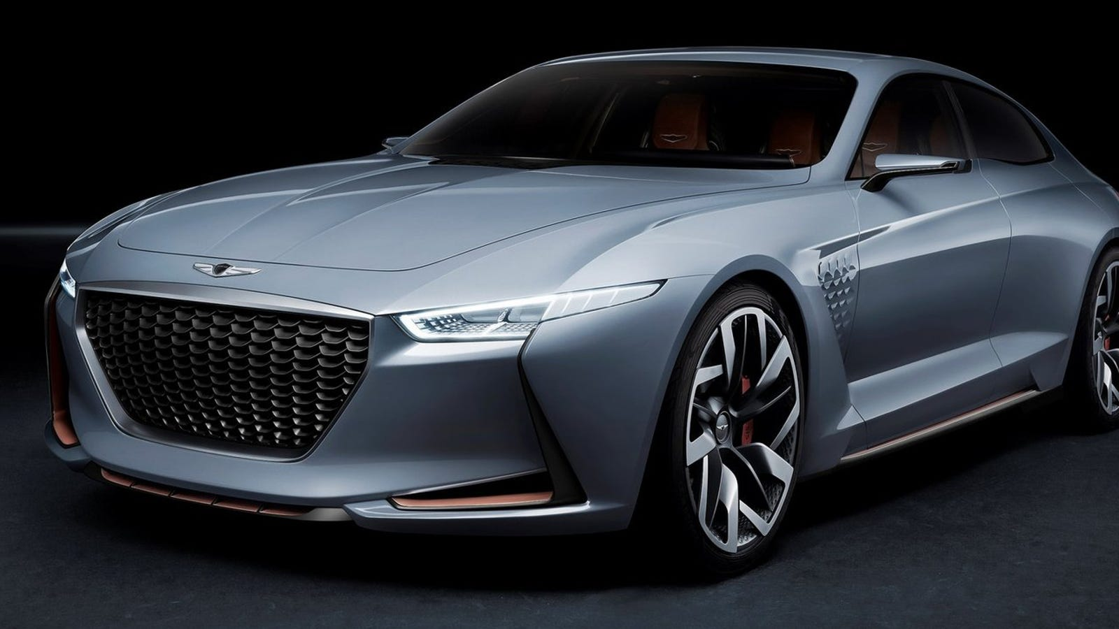 the genesis new york concept imagines a korean hybrid bmw fighter. Black Bedroom Furniture Sets. Home Design Ideas